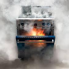 oven burn