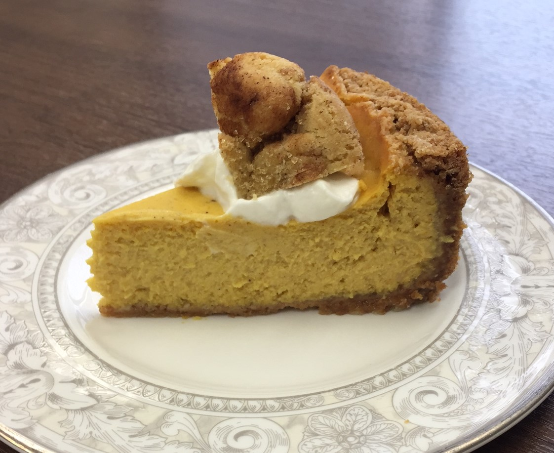 Pumpkin Cheesecake With Carol 39 S Snickerdoodle Cookie Crust