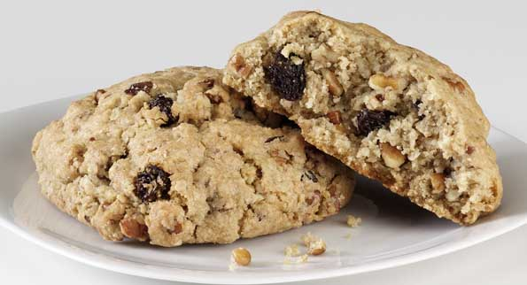 Oatmeal Raisin with Pecans cookie